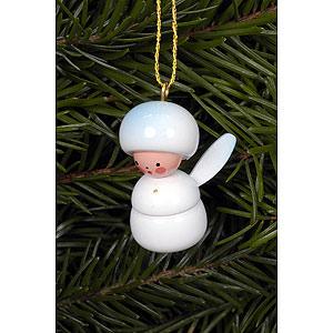 Tree ornaments Winterly Tree Ornament - Snowflakes - 2,3x3,1 cm / 1x1 inch