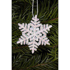 Tree ornaments Winterly Tree Ornament - Snowflakes - 4,5x4,5 cm / 2x2 inch