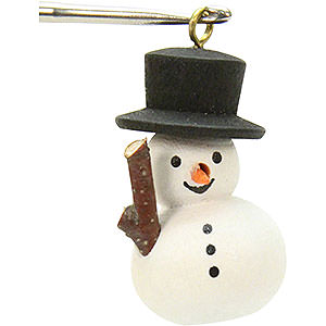 Tree ornaments Snowmen Tree Ornament - Snowman - 1,1x3,0 cm / 1x1 inch