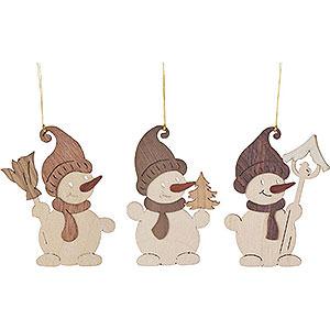 Tree ornaments Snowmen Tree Ornament - Snowman - Set of 6 - 7 cm / 2.8 inch