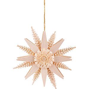 Tree ornaments Moon & Stars Tree Ornament - Star - Natural - 7 cm / 2.8 inch