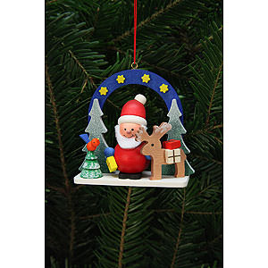 Tree ornaments Santa Claus Tree Ornament - Starry Sky with Niko - 7,5x7,1 cm / 3x3 inch
