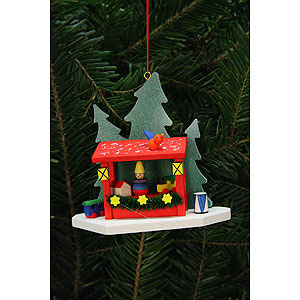 Tree ornaments Christmas Tree Ornament - Strizelmarkt Booth - 9,2x8,7 cm / 4x3 inch