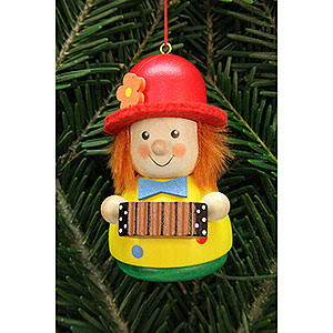 Tree ornaments Dwarfs & others Tree Ornament - Teeter Man Clown - 7,5 cm / 3 inch