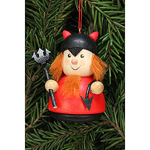 Tree ornaments Dwarfs & others Tree Ornament - Teeter Man Teufelchen - 7,0 cm / 2.8 inch