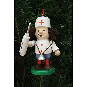 Tree ornaments Dwarfs & others Tree Ornament - Thug Doctor - 10 cm / 4 inch