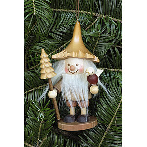 Tree ornaments Dwarfs & others Tree Ornament - Tree Gnome Natural - 12 cm / 5 inch