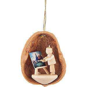 Tree ornaments Walnut Shells Tree Ornament - Walnut Shell Painter - 4,5 cm / 1.8 inch