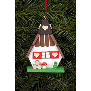 Tree ornaments Misc. Tree Ornaments Tree Ornament - Witch House - 5,2x7,2 cm / 2x3 inch