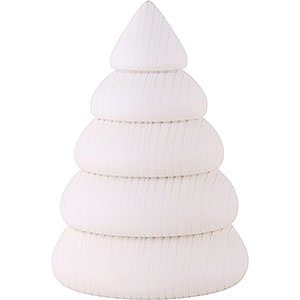 Small Figures & Ornaments Björn Köhler decoration Tree, Small White - 9,5 cm / 2 inch