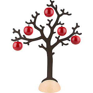 Small Figures & Ornaments Näumanns Wicht Tree with 5 Apples - 40,5 cm / 15.9 inch