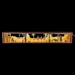 Schwibbögen Schwibbogen-Unterbauten Unterbau für Schwibbogen, LED beleuchtet, 12V,