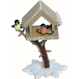 Kleine Figuren & Miniaturen Kuhnert Schneeflöckchen Vogelhaus - 7 cm