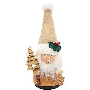 Kleine Figuren & Miniaturen Wippel-/Wackelmännchen Wackelmännchen Weihnachtsmann natur - 11,5 cm