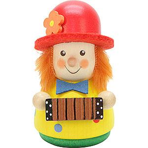 Kleine Figuren & Miniaturen Wippel-/Wackelmännchen Wackelmännchen Clown - 7,6 cm