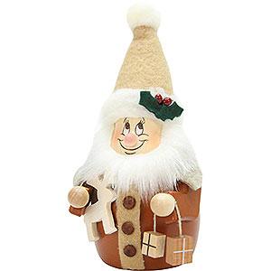 Kleine Figuren & Miniaturen Wippel-/Wackelmännchen Wackelwichtel Weihnachtsmann natur - 15,5 cm
