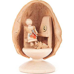 Kleine Figuren & Miniaturen Walnussschalen Walnussschale