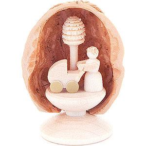 Small Figures & Ornaments Walnut Shells Walnut Shell