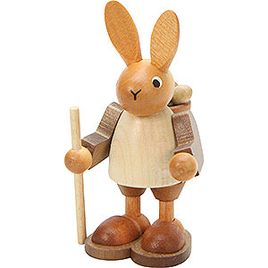 Small Figures & Ornaments Animals Rabbits Wanderer Natural Colors - 9,0 cm / 4 inch