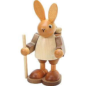 Kleine Figuren & Miniaturen Tiere Hasen Wandersmann natur - 9,0 cm