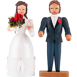 Small Figures & Ornaments everything else Wedding Couple - 8 cm / 3.1 inch