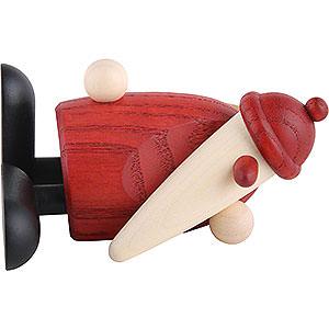 Kleine Figuren & Miniaturen Björn Köhler Weihnachtsmänner kl. Weihnachtsmann liegend - 9 cm