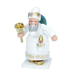 Kleine Figuren & Miniaturen Weihnachtsmann Weihnachtsmann weiß - 7,5 cm