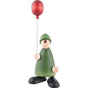 Small Figures & Ornaments Björn Köhler Well-wisher Well-Wisher Linus with Balloon - 17 cm / 6.7 inch