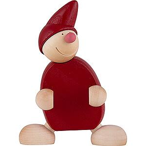 Kleine Figuren & Miniaturen Näumanns Wicht Wicht UNO - rot - 10 cm