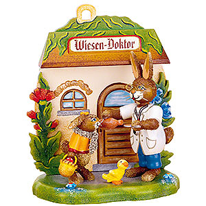 Kleine Figuren & Miniaturen Tiere Hasen Wiesen - Doktor - 12 cm