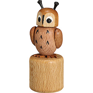 Small Figures & Ornaments Wiggle Figurines Wiggle Figure - Owl - 7,5 cm / 3 inch
