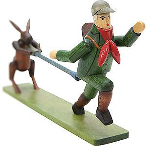 Small Figures & Ornaments Fairytale Figurines Struwwelpeter (Ulbricht) Wilder Huntersmann - 8,5 cm / 3 inch