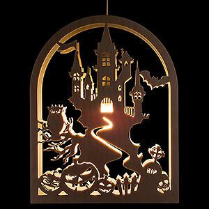 World of Light Window-Pictures Window Picture - Halloween - 27 cm / 10.6 inch