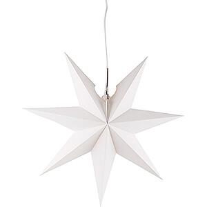 Advent Stars and Moravian Christmas Stars Annaberg Folded Stars Window Star - White - 41 cm / 16.1 inch