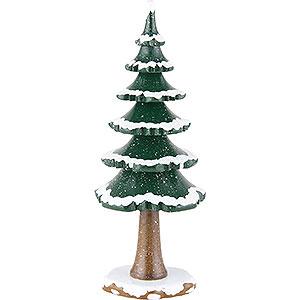 Small Figures & Ornaments Hubrig Winter Kids Winter Children Big Tree - 19 cm / 7,5 inch