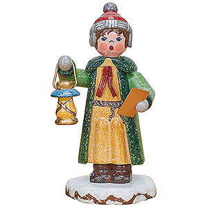 Small Figures & Ornaments Hubrig Winter Kids Winter Children Carol Singer Benjamin - 7,5 cm / 3 inch
