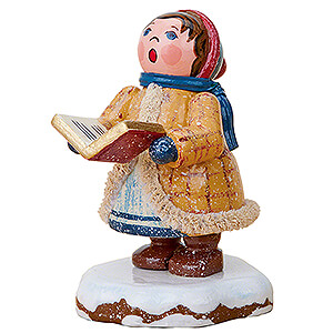 Small Figures & Ornaments Hubrig Winter Kids Winter Children Carol Singer Johanna - 5 cm / 2 inch