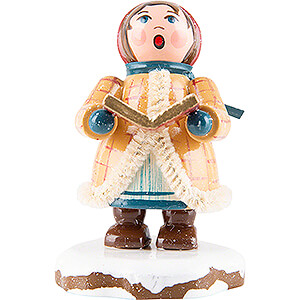 Small Figures & Ornaments Hubrig Winter Kids Winter Children Carol Singer Johanna - 5 cm / 2 inch