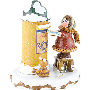 Small Figures & Ornaments Hubrig Winter Kids Winter Children Christ Child Post - 7 cm / 3 inch