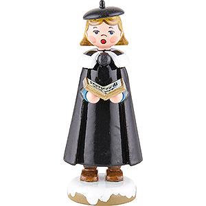 Small Figures & Ornaments Hubrig Winter Kids Winter Children Church Singers with Book - 8 cm / 3 inch