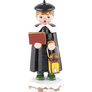 Small Figures & Ornaments Hubrig Winter Kids Winter Children Church Singers with Lantern - 7 cm / 3 inch