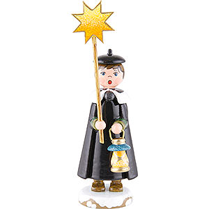 Small Figures & Ornaments Hubrig Winter Kids Winter Children Church Singers with Star - 11 cm / 4,3 inch