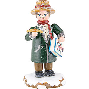 Small Figures & Ornaments Hubrig Winter Kids Winter Children Dad Goes Shopping - 8 cm / 3 inch