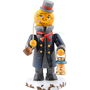 Small Figures & Ornaments Hubrig Winter Kids Winter Children Father Moon - 8 cm / 3.1 inch