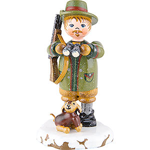 Small Figures & Ornaments Hubrig Winter Kids Winter Children Forester- 7 cm / 3 inch