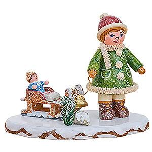 Small Figures & Ornaments Hubrig Winter Kids Winter Children Let it Snow, Let it Snow - 6,5 cm / 2.6 inch