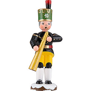 Small Figures & Ornaments Hubrig Winter Kids Winter Children Miner Russian Horn - 9 cm / 3.5 inch