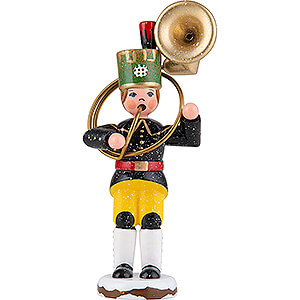 Small Figures & Ornaments Hubrig Winter Kids Winter Children Miner Sousaphone - 9 cm / 3.5 inch