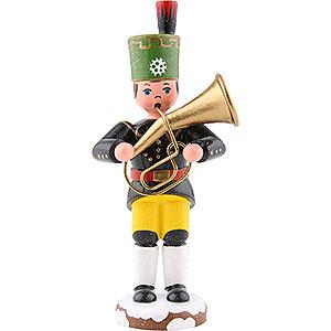 Small Figures & Ornaments Hubrig Winter Kids Winter Children Miner Tenor Horn - 9 cm / 3,5 inch