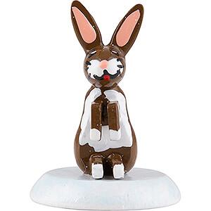 Small Figures & Ornaments Hubrig Winter Kids Winter Children Rabbit - Set of Six - 1,5 cm / 0,5 inch